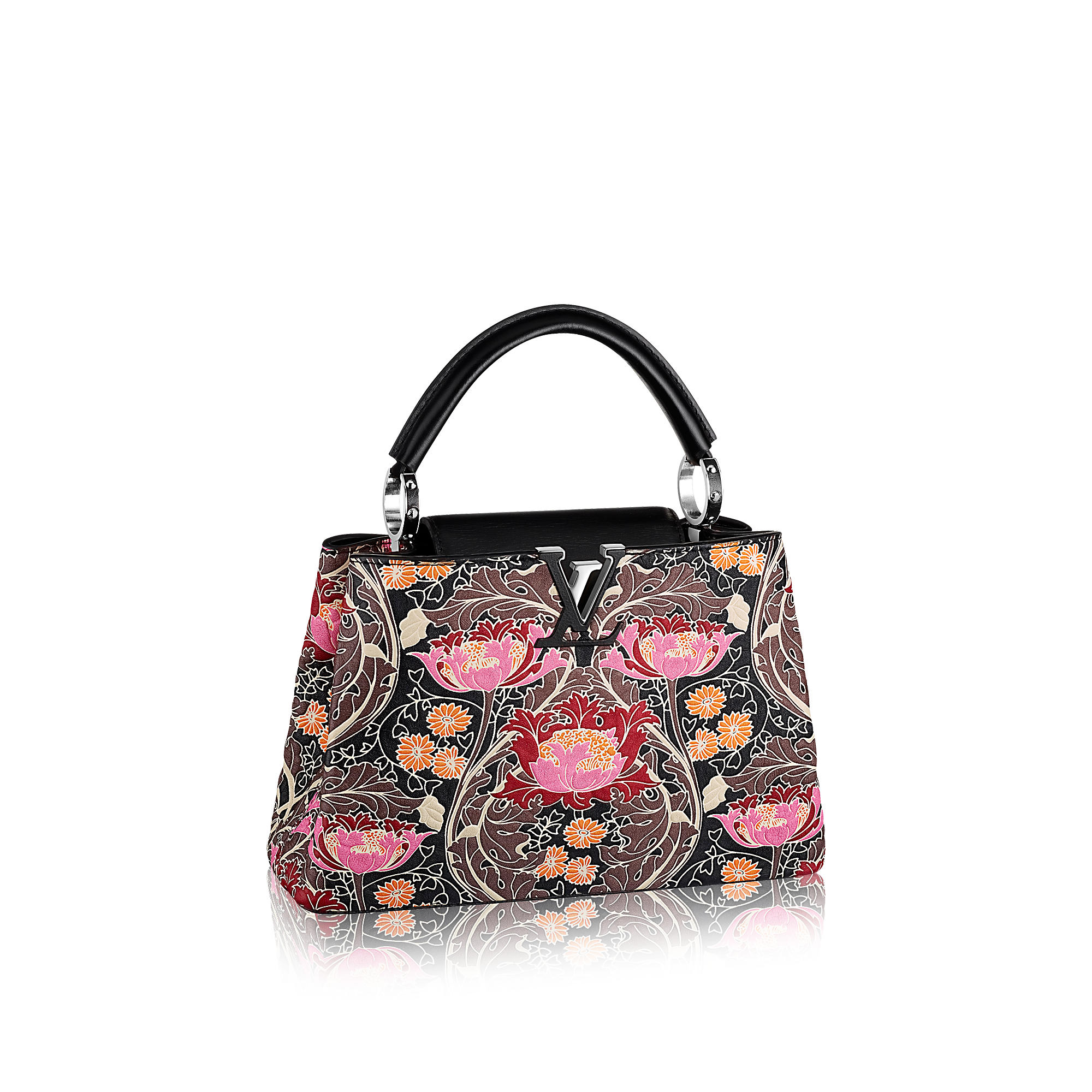 Louis Vuitton M94717 Capucines BB Wildflowers