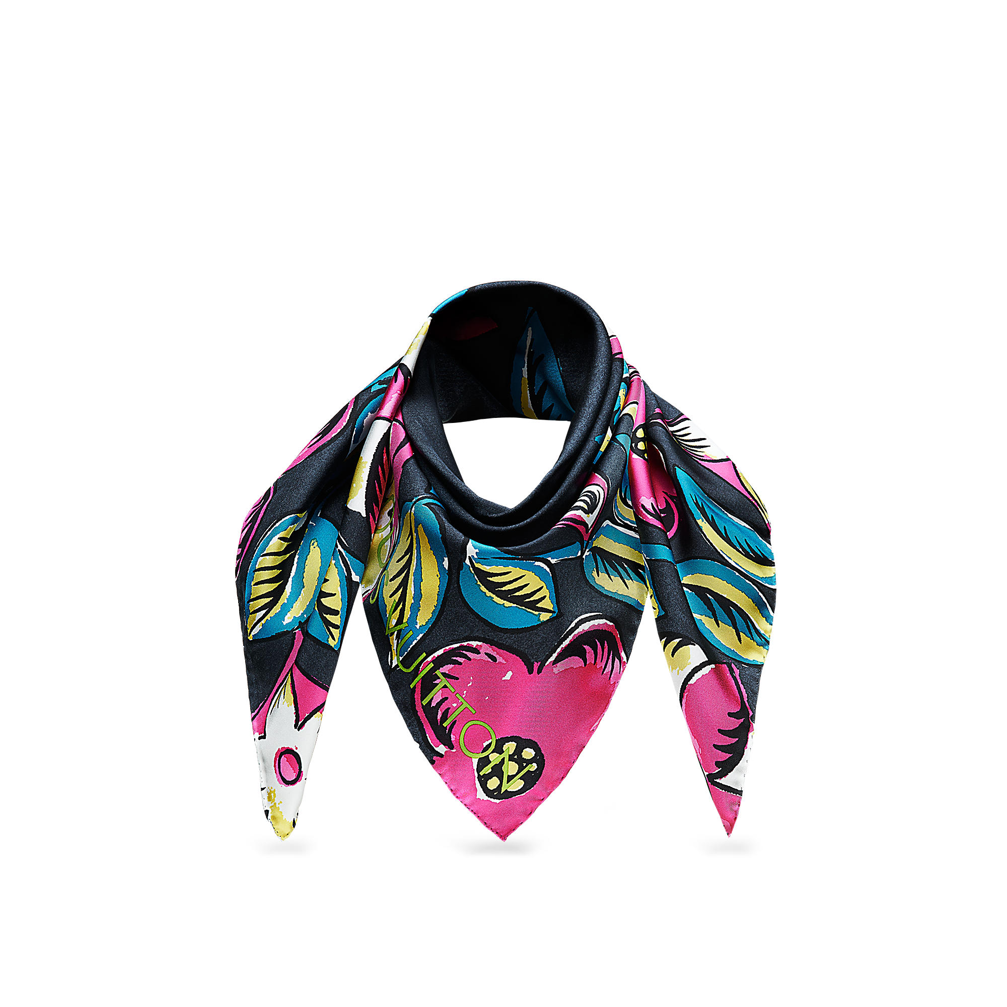 Louis Vuitton M73967 Foulard Close To Monogram