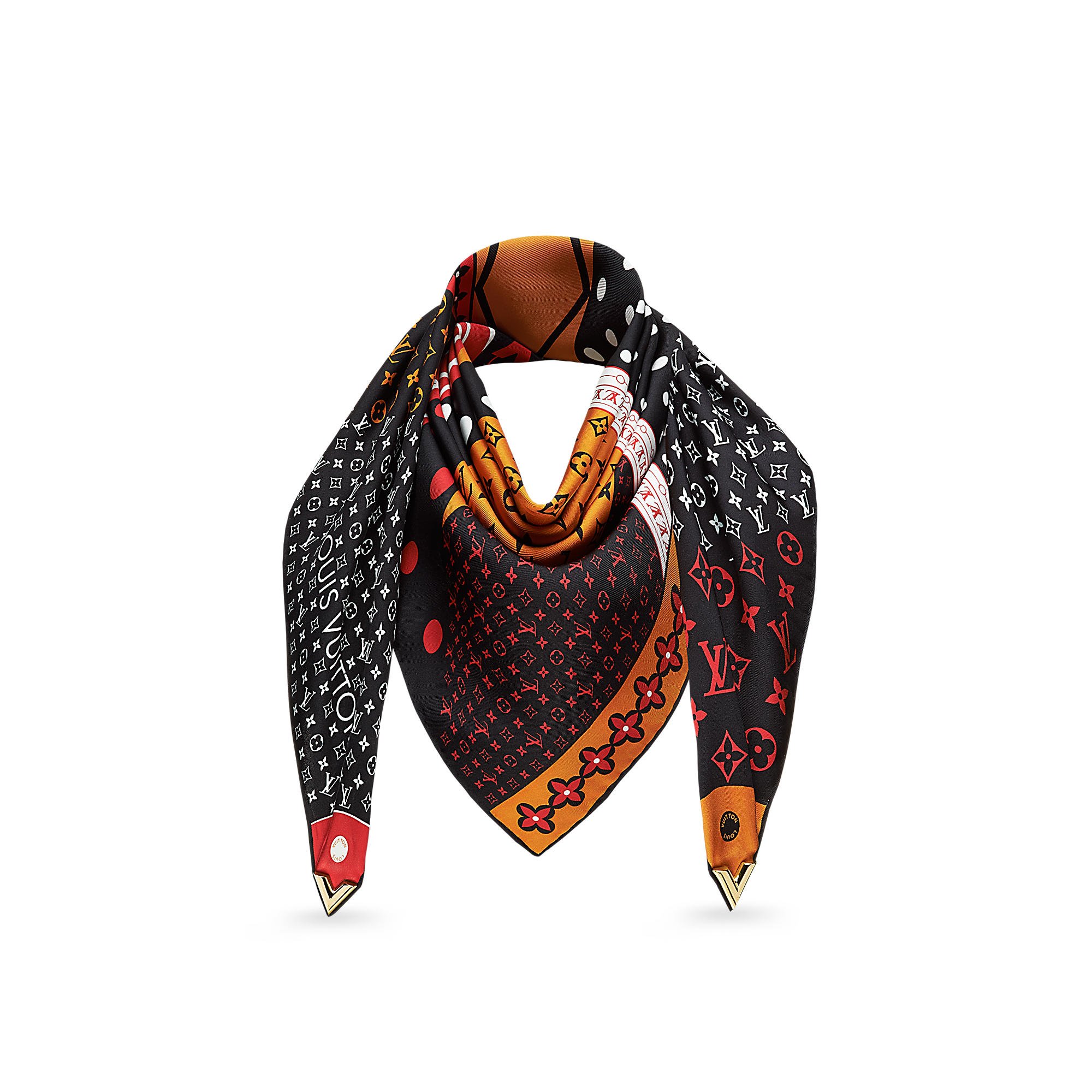 Louis Vuitton M70171 Foulard Essential V Patchwork