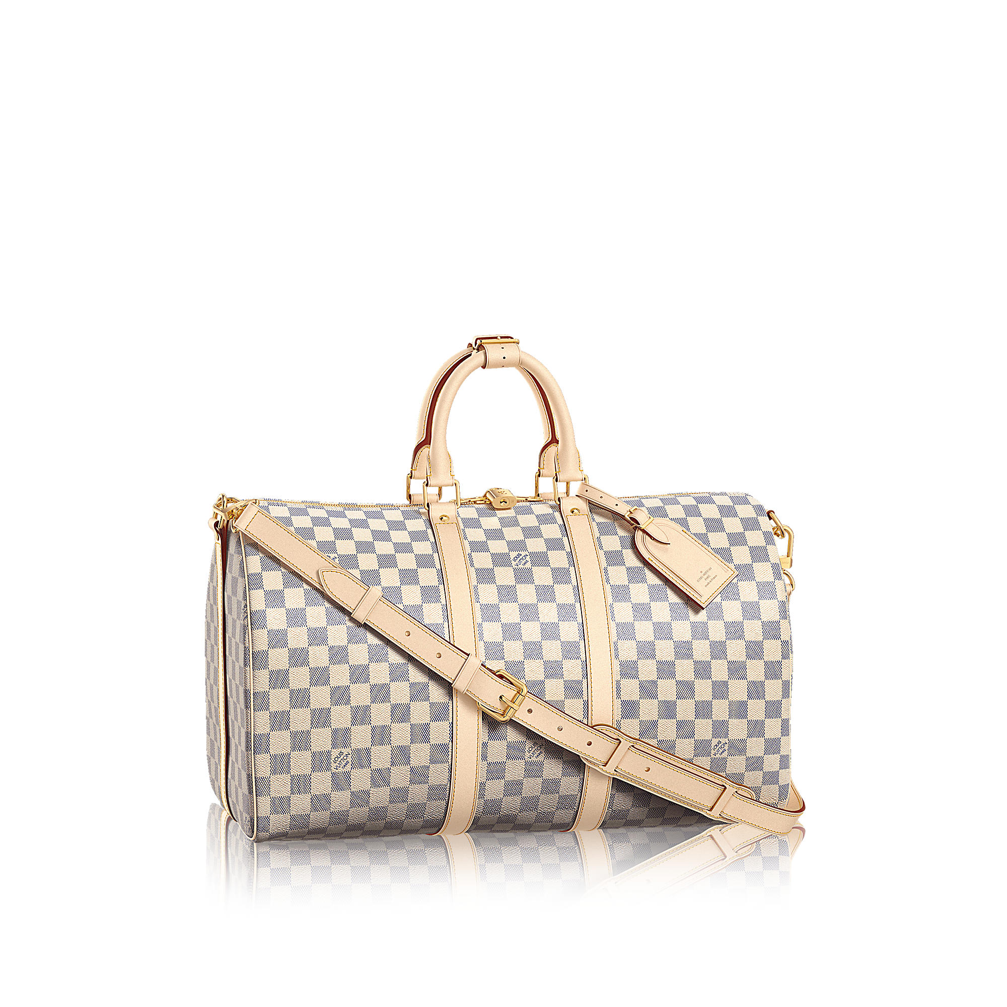 Louis Vuitton N48223 Keepall 45 con tracolla