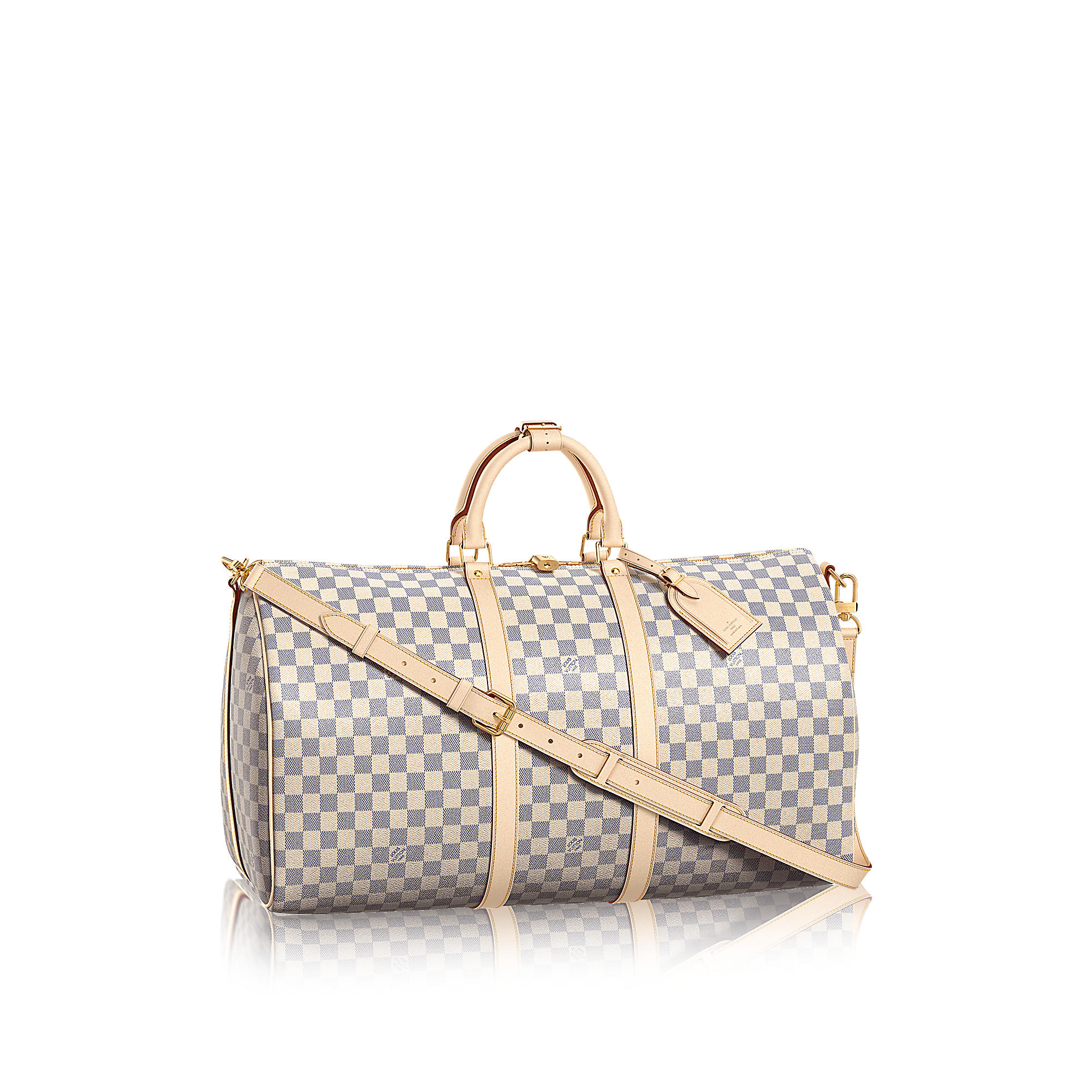 Louis Vuitton N41429 Keepall 55 con tracolla