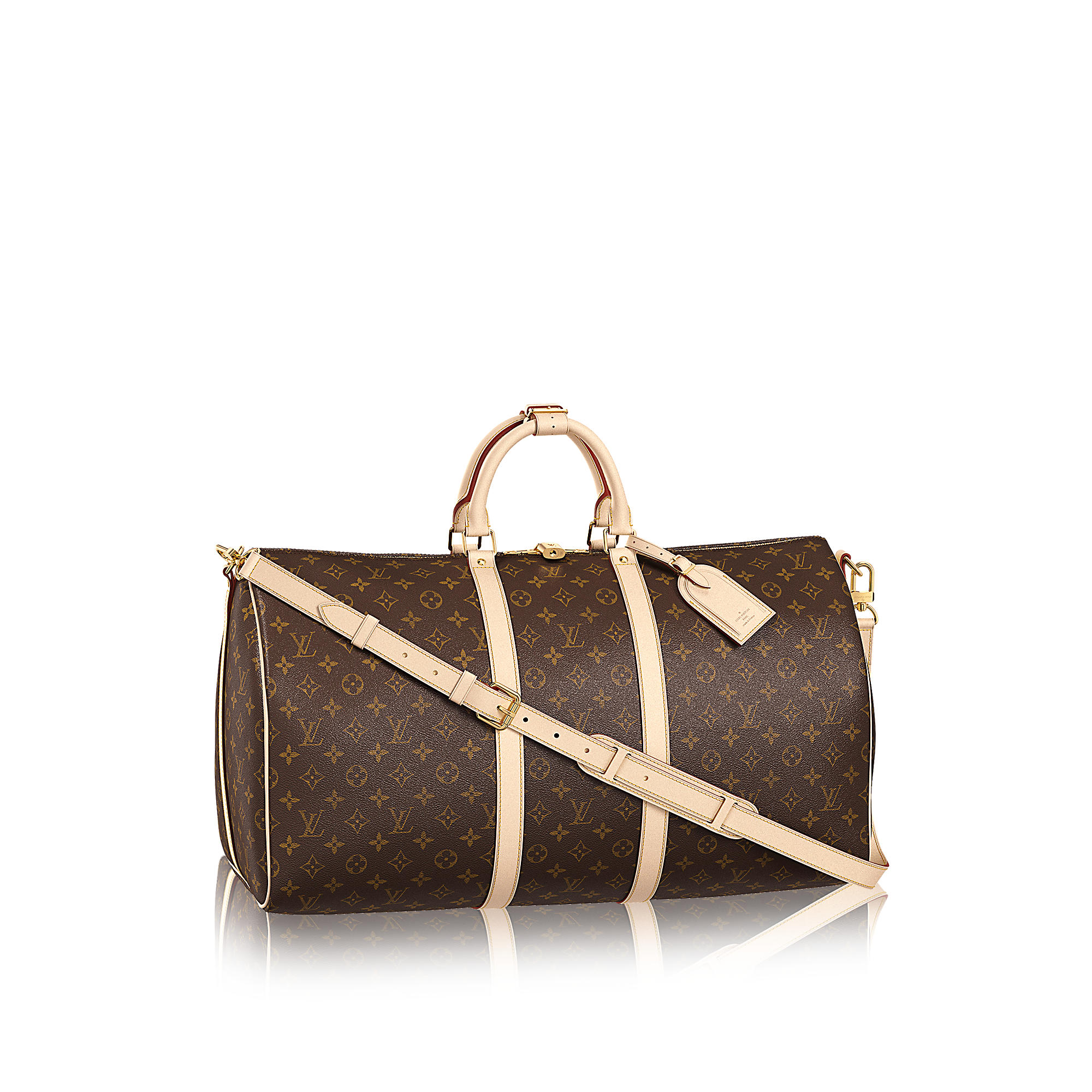 Louis Vuitton M41414 Keepall 55 con tracolla